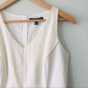 [Banana Republic] Dress with Vegan Leather Detail